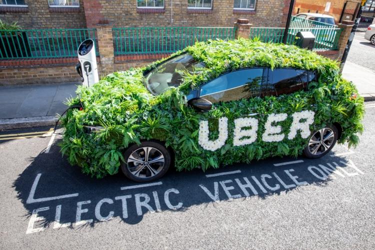 Uber полностью электрифицирует свой парк автомобилей в Лондоне к 2025 году