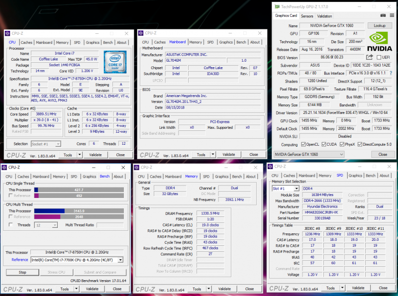 Новая статья: Обзор ASUS ROG Strix SCAR II (GL704GM): как тайваньцы 17-дюймовый игровой ноутбук уменьшили