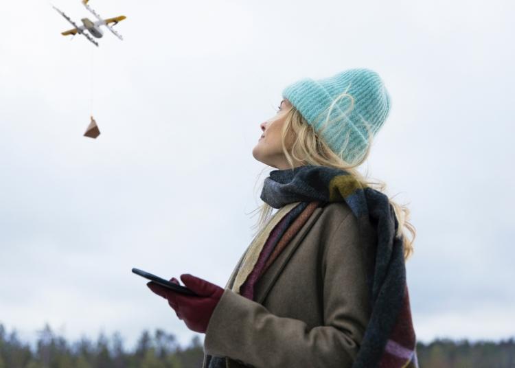 Wing из Alphabet запустит в Финляндии сервис доставки дронами
