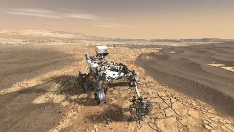 Космический зонд MAVEN снизит высоту орбиты в преддверии посадки марсохода Mars 2020