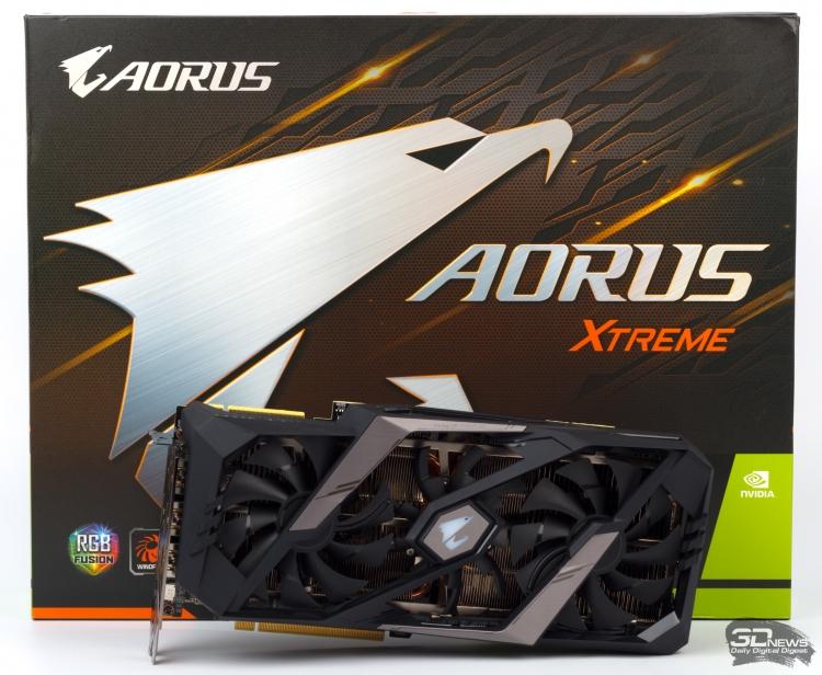 Новая статья: Обзор видеокарты GIGABYTE AORUS GeForce RTX 2080 Ti XTREME