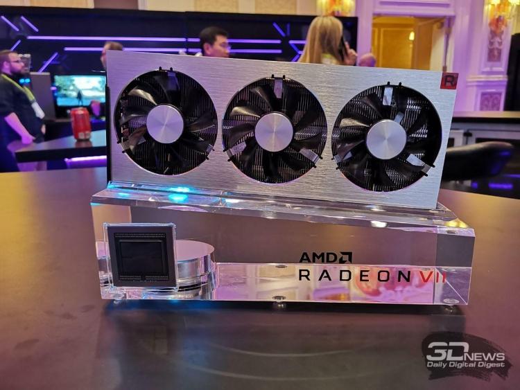 Не ждали? Компания AMD представила флагманскую видеокарту Radeon VII