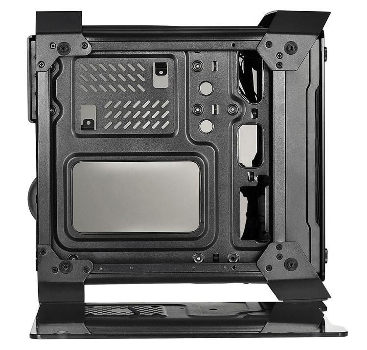 X2 Spartan 716: корпус с панелями из закалённого стекла для компактного ПК