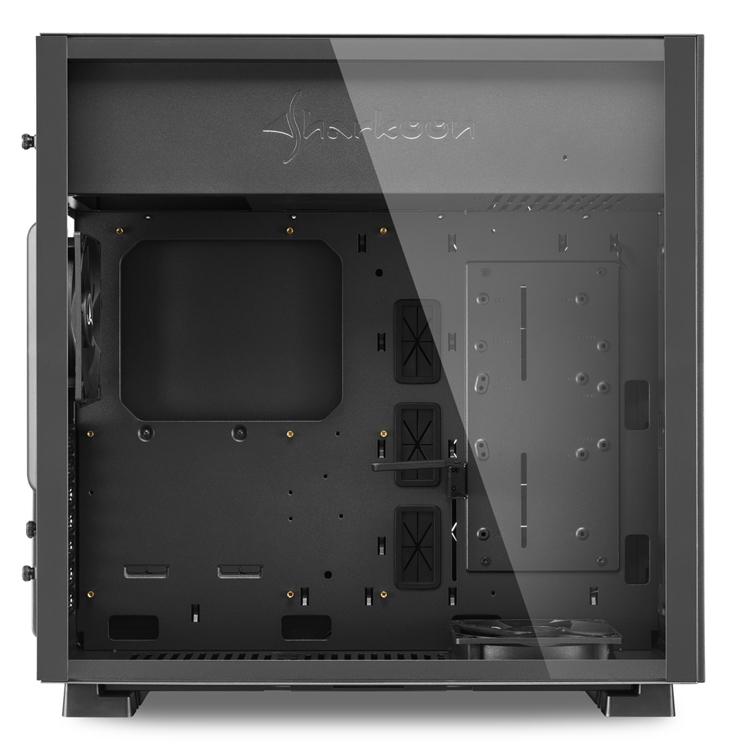 Sharkoon Pure Steel: компьютерный корпус с поддержкой плат E-ATX