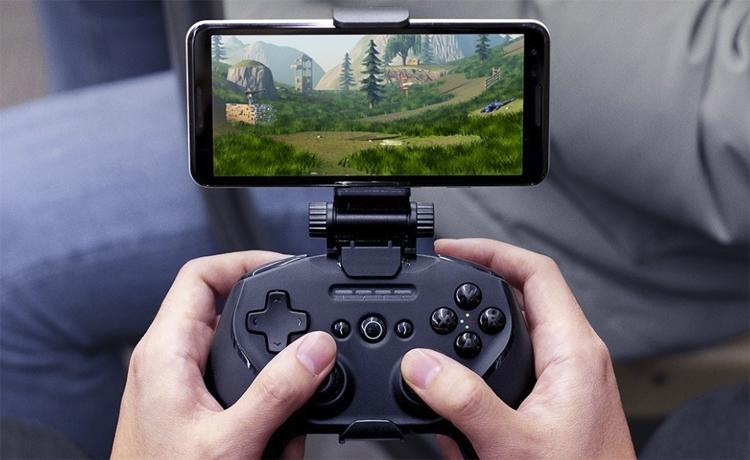 Беспроводной игровой контроллер SteelSeries Stratus Duo подходит для разных платформ