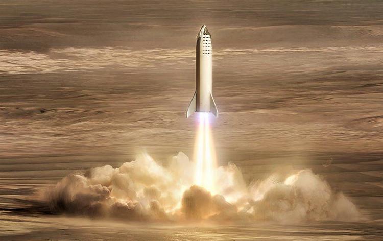Фото дня: марсианская база SpaceX