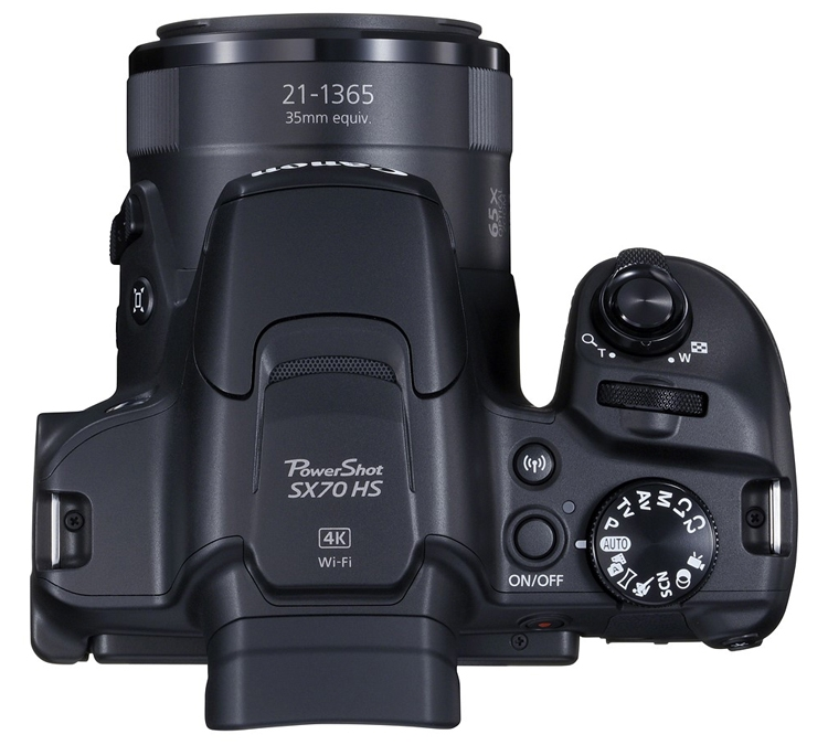 Canon PowerShot SX70 HS: фотокамера с 65-кратным зумом за 0