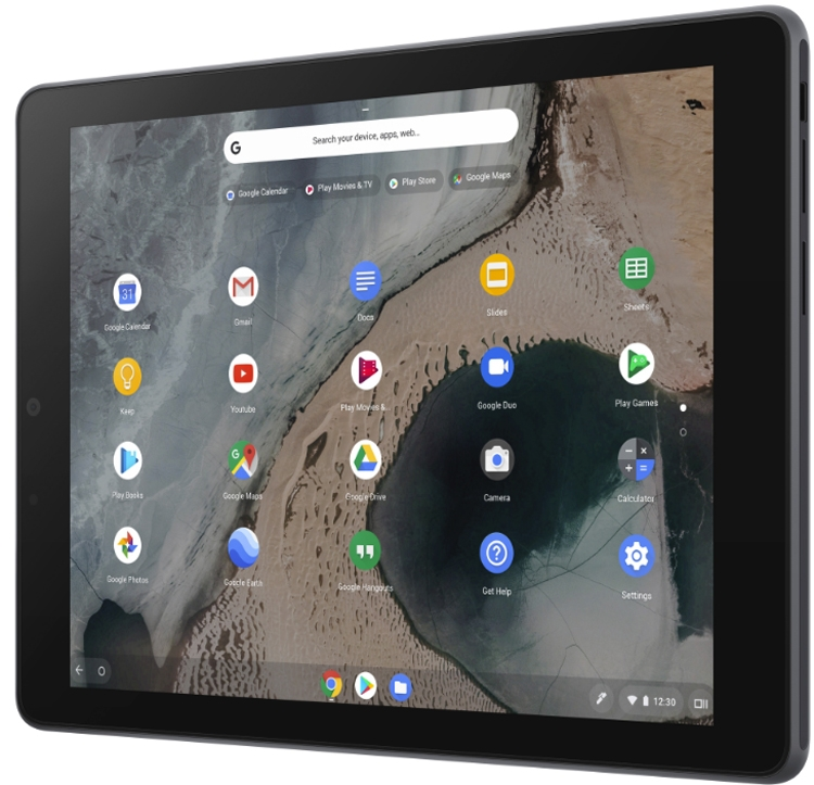 CES 2019: Планшет ASUS Chromebook Tablet CT100 получил экран QXGA
