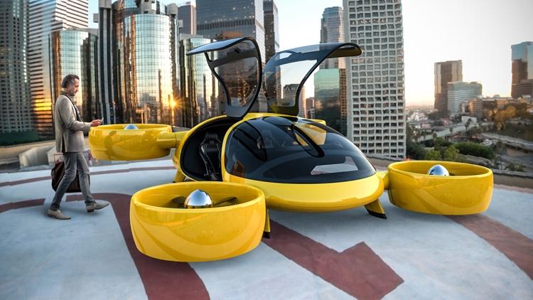 В России создан прототип летающего такси будущего