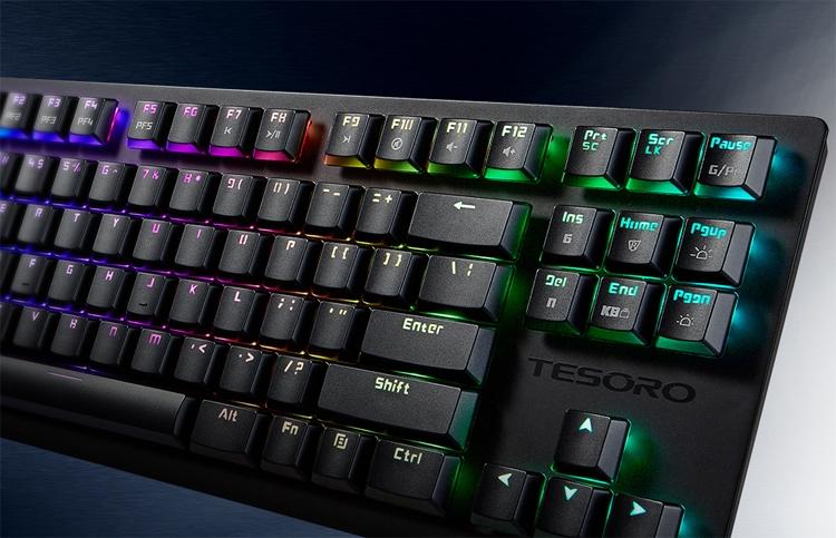 Tesoro GRAM Spectrum TKL: компактная клавиатура механического типа