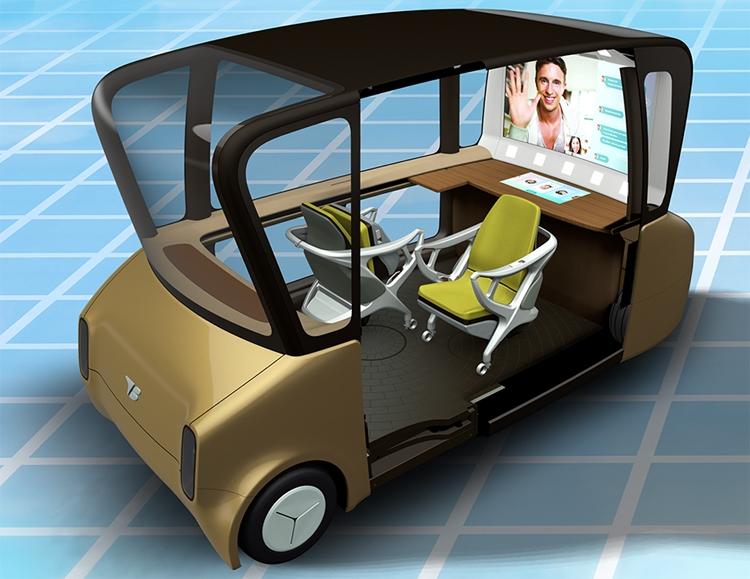 CES 2019: интерьерные решения для робомобилей будущего в представлении Toyota