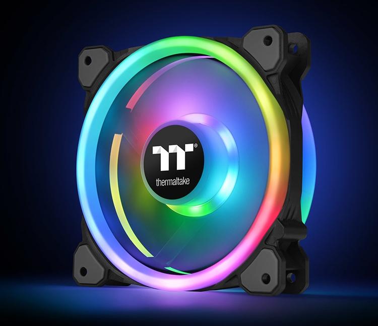 Thermaltake Riing Trio 14 LED RGB: набор вентиляторов с эффектной подсветкой