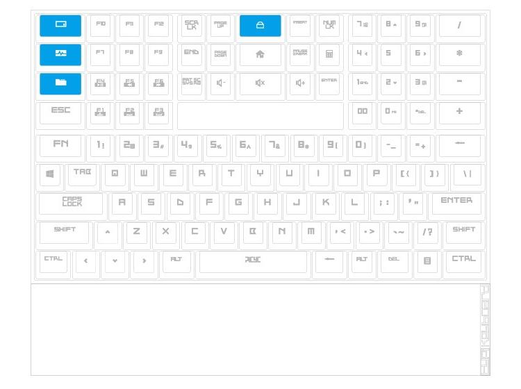 TYPI: необычная клавиатура с девятью рядами кнопок