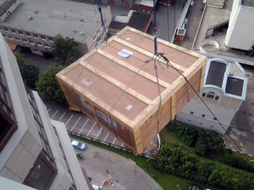 Поднятие грузов в Москве и Московской области