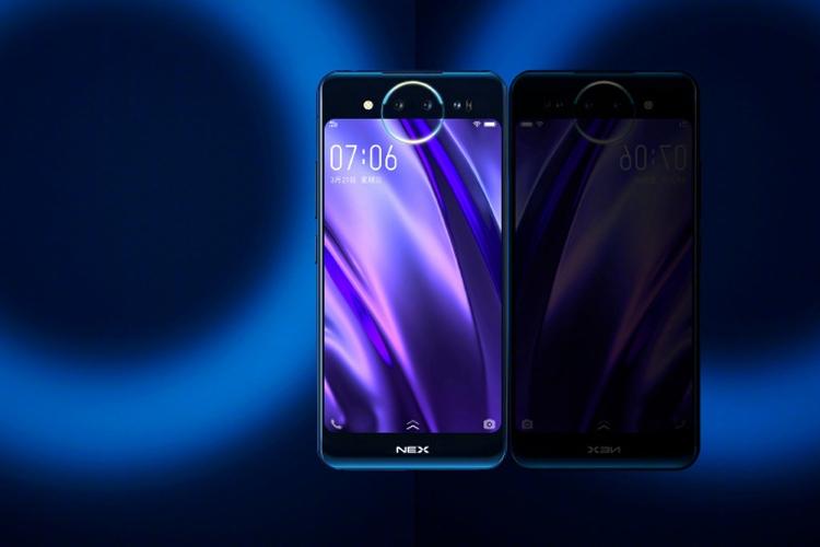 Vivo NEX: смартфон с выдвижной камерой и полностью безрамочным экраном