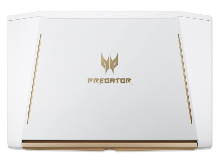 Acer Predator Helios 300 White Edition: игровой ноутбук в белоснежном корпусе