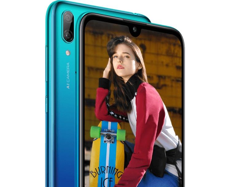 Рассекречен смартфон Huawei Y7 (2019): рендеры и характеристики