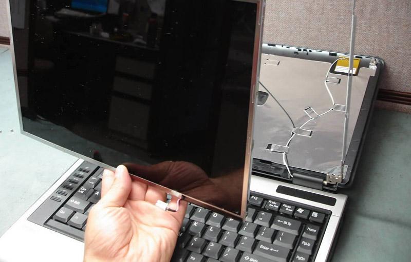Замена матрицы в вашем ноутбуке