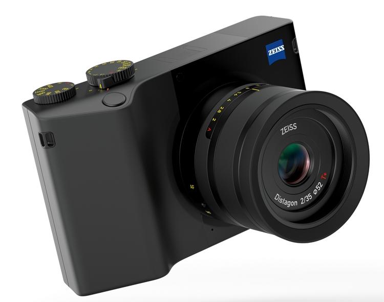 Zeiss ZX1: полнокадровый фотоаппарат с 37,4-Мп сенсором